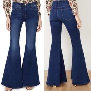 Frame Denim Le Super Flare Jeans, Size:27, NWT.